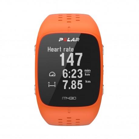 Polar M430 GPS-es futó óra ORANGE - Sportgpsek.hu webáruház 0dcf5cb894